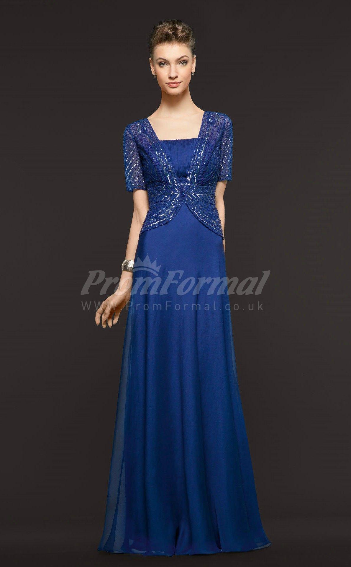 Classic royal blue long prom dresses soo cute design pinterest