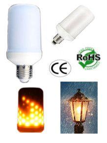 E26 E27 Base 5 Watt Led Flame Lamp Bulb 85 265 Volt Ac 5 Watt Led