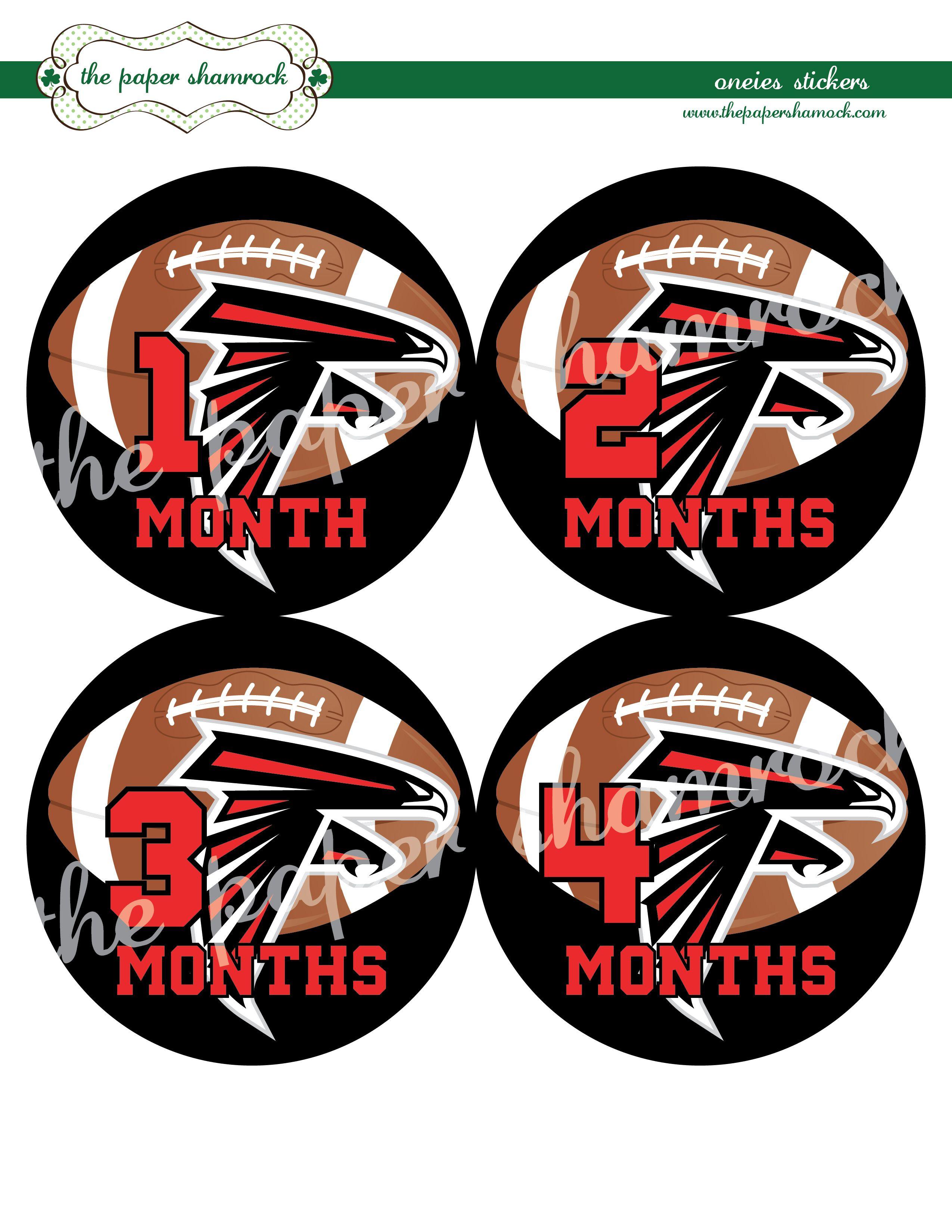 Atlanta Falcons esie Stickers I want Pinterest
