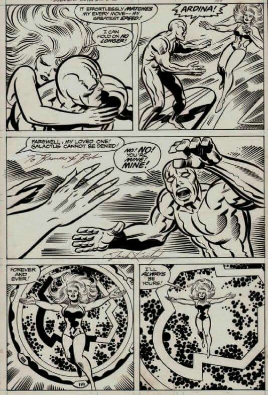 Jack Kirby and Sinnot