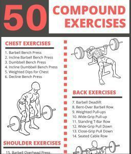 The Ultimate List of Compound Exercises: 50 Muscle-Building Exercises - The Fitness Tribe