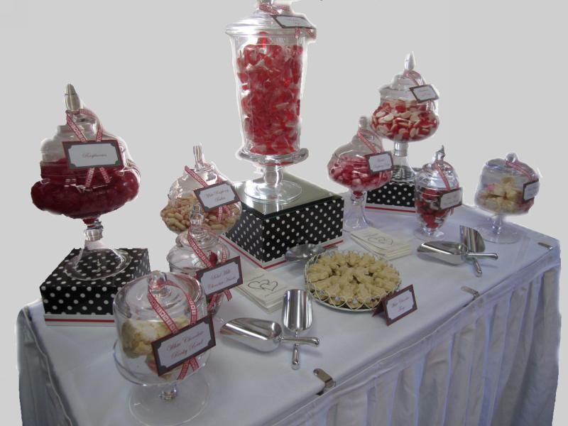 Diy Candy Buffet Jars Wedding Option 3 150 200 Guests
