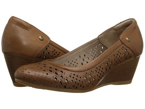 Hush Puppies Mindon Rhea Leather Shoes Brown Shoe