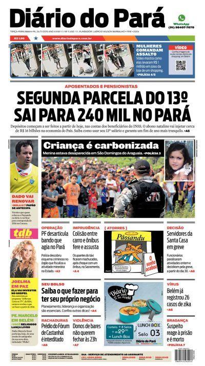 d920a52fc25 DOL - Diário Online - Portal de Notícias do Pará e do Mundo - Pará ...