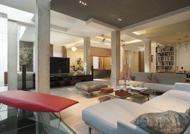 Designer faz da casa seu laboratorio luxurious homesmodern livinginterior also designers and interiors rh pinterest