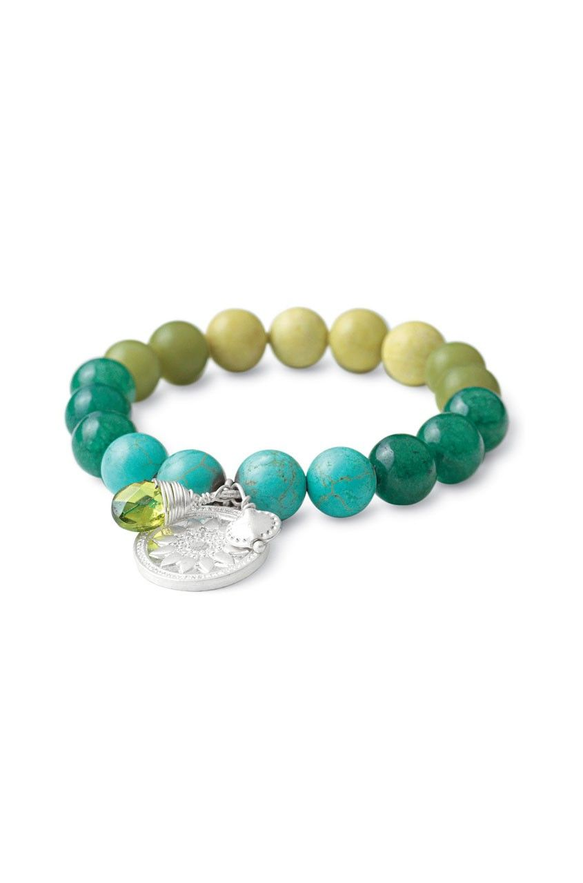 Foundation Bracelet-Turquoise  www.stelladot.com/dee