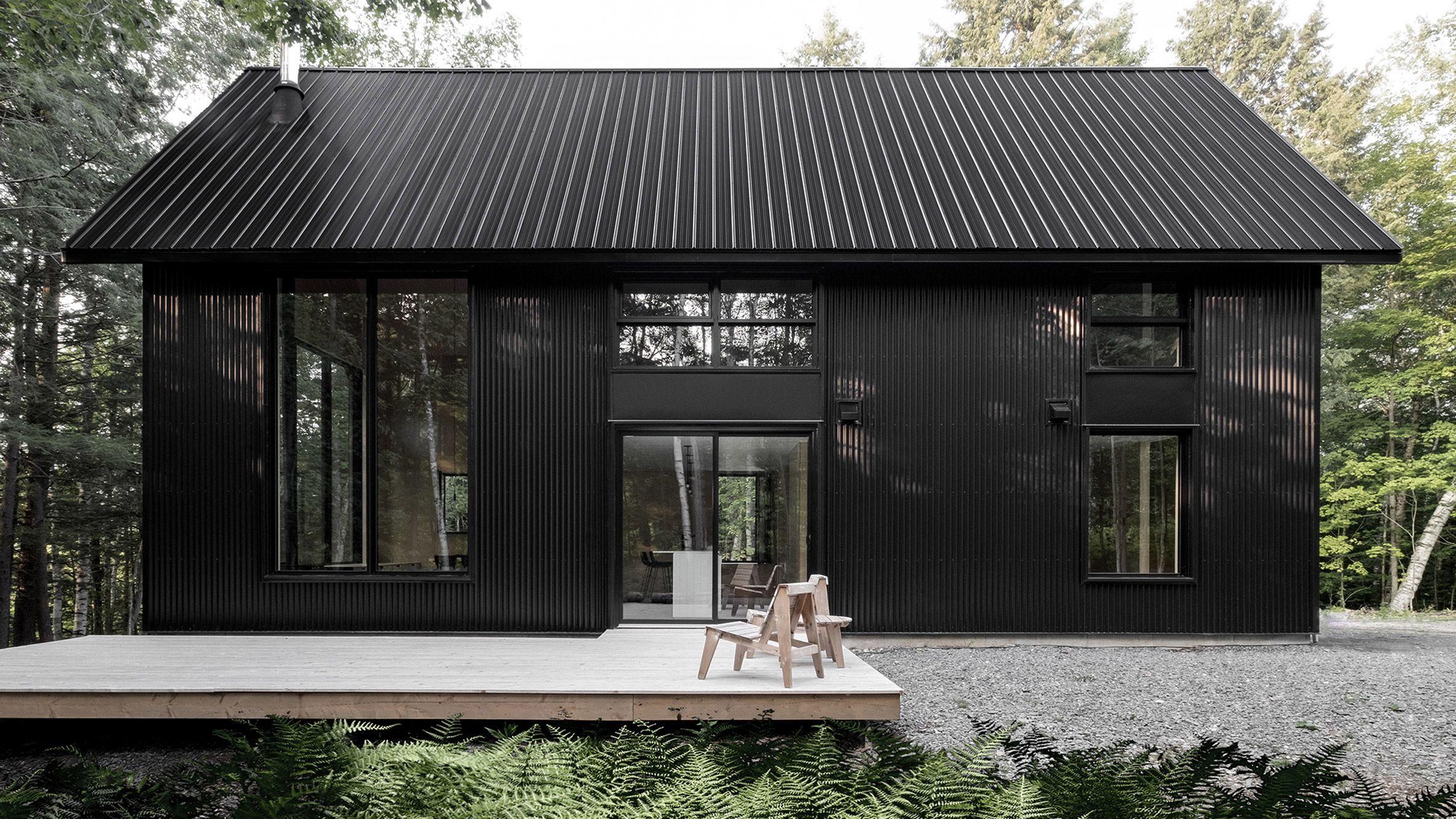 Best Appareil Architecture S Black Metal Cabin Hides In A 400 x 300