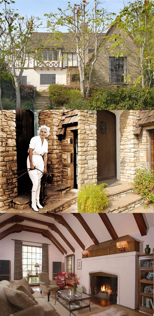 Jean Harlow S Allegedly Haunted Home At 1353 Club View Drive Los Angeles Ca 90024 Bizarre Los Angeles Hollywood Homes Jean Harlow Celebrity Houses