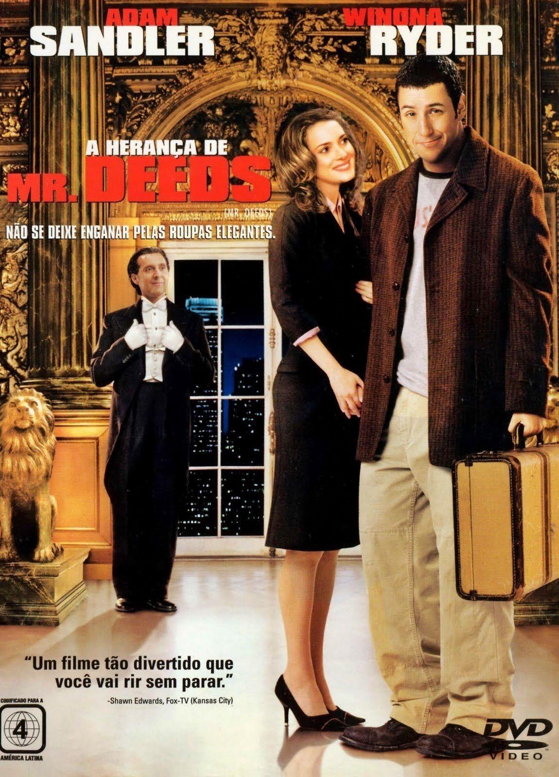 A Heranca De Mr Deeds Capas De Filmes Filmes E Em Breve Nos