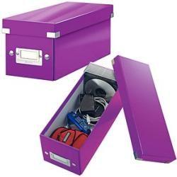 Photo of Leitz Cd-/dvd-box Click & Store violett LeitzLeitz