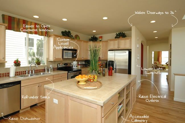 Aging In Place Design Tips  House Kitchen Design And Kitchens Awesome Kitchen Design Website 2018