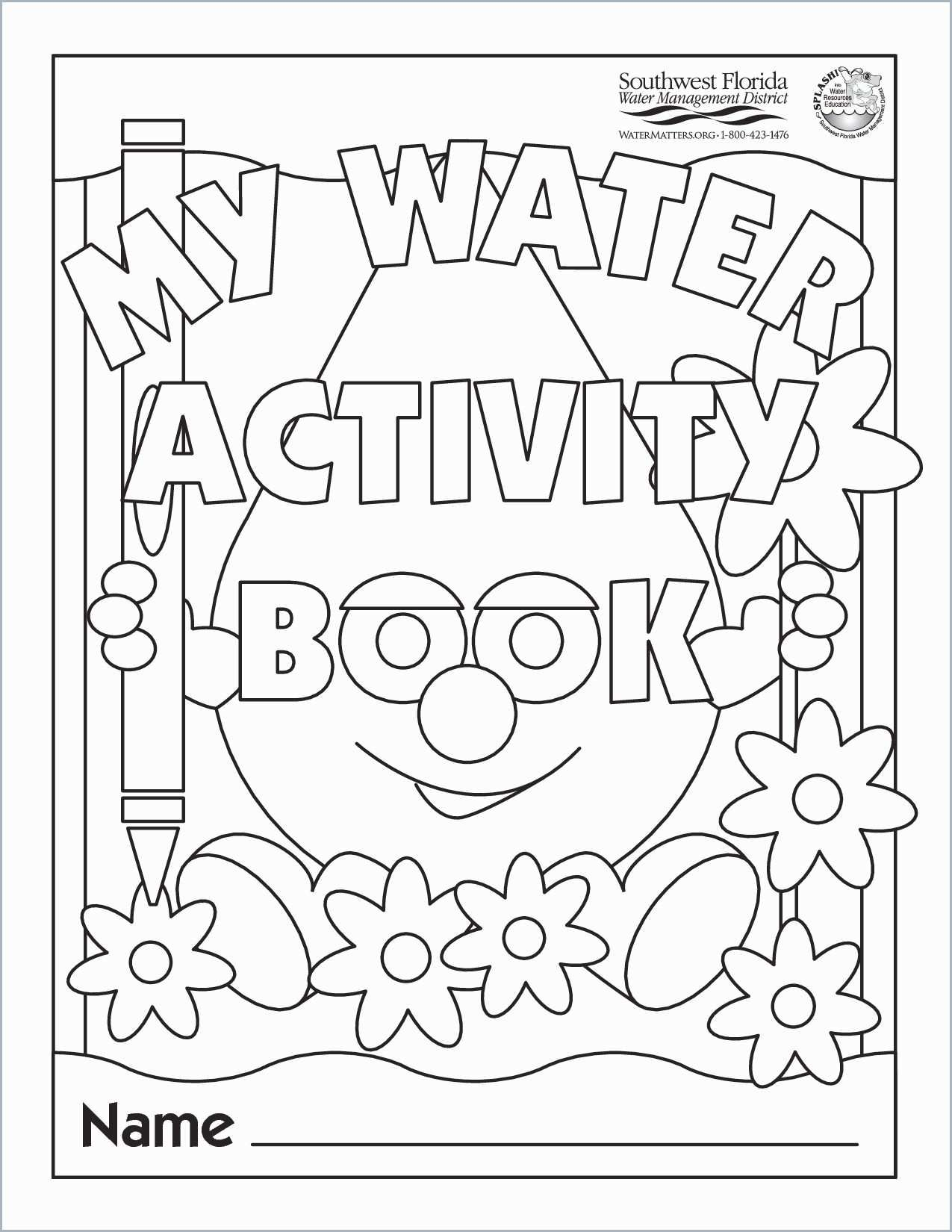 Water Cycle Coloring Page Printables