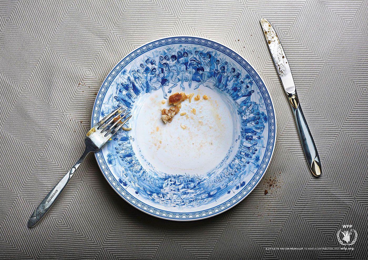 World Food Programme: Hunger Plate on Behance