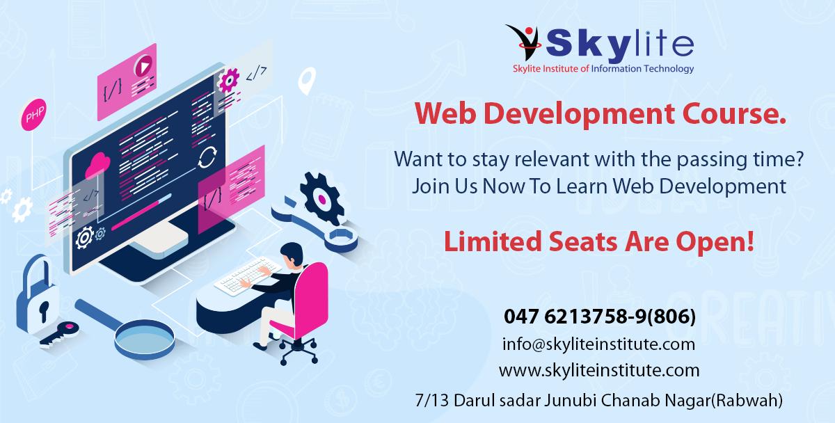 Web Development Course In 2020 Web Development Course Learn Web Development Development