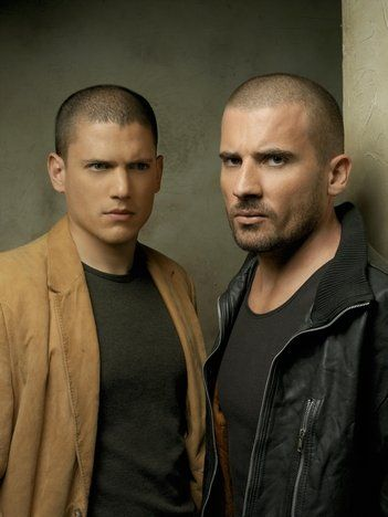 Wentworth Miller And Dominic Purcell In Prison Break Prison