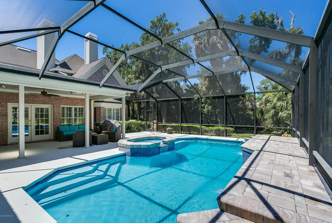 Superbly built pool home with totally remodeled kitchen overlooking ...