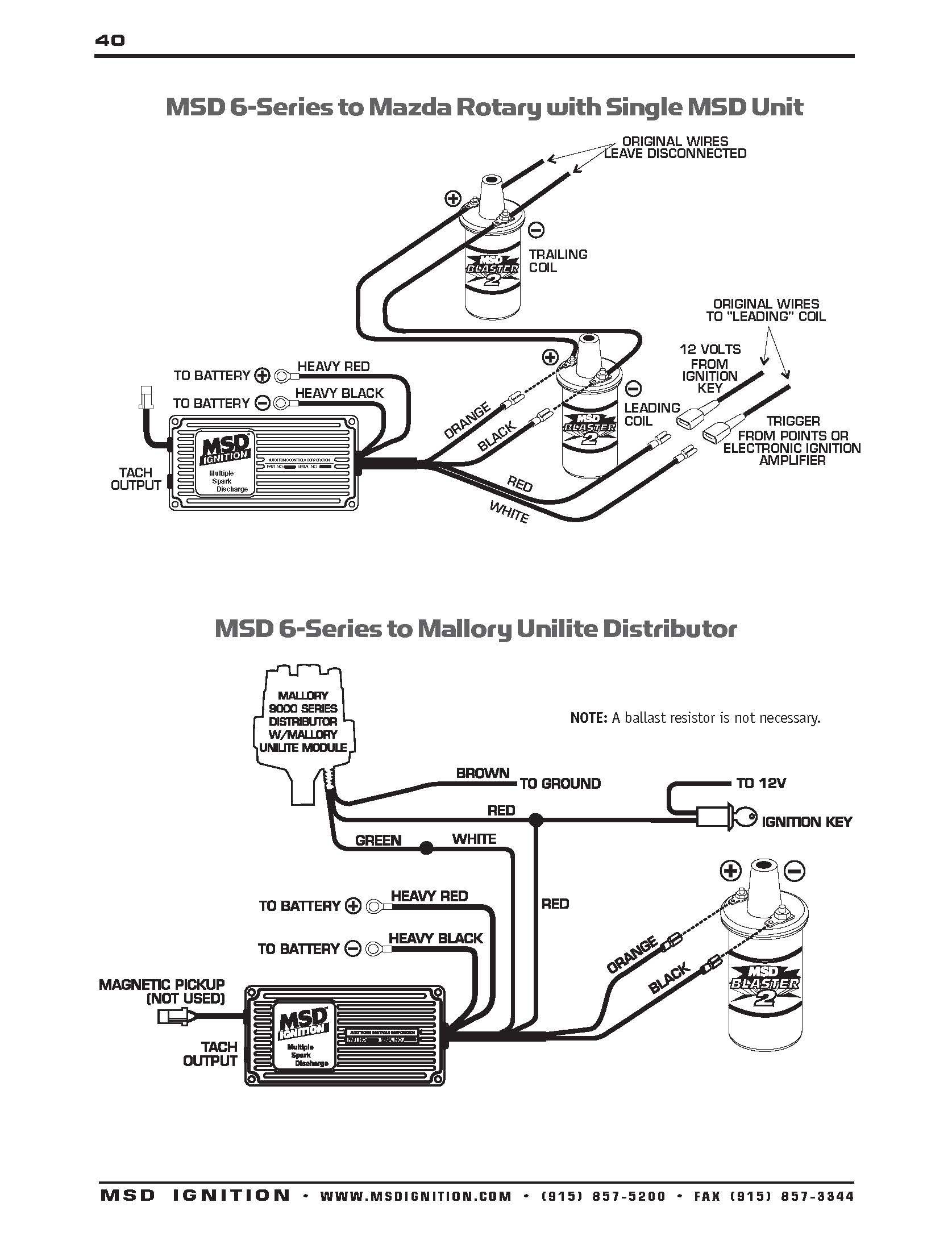 Mallory Unilite Wiring Diagram Sbc Diagrams Schematics