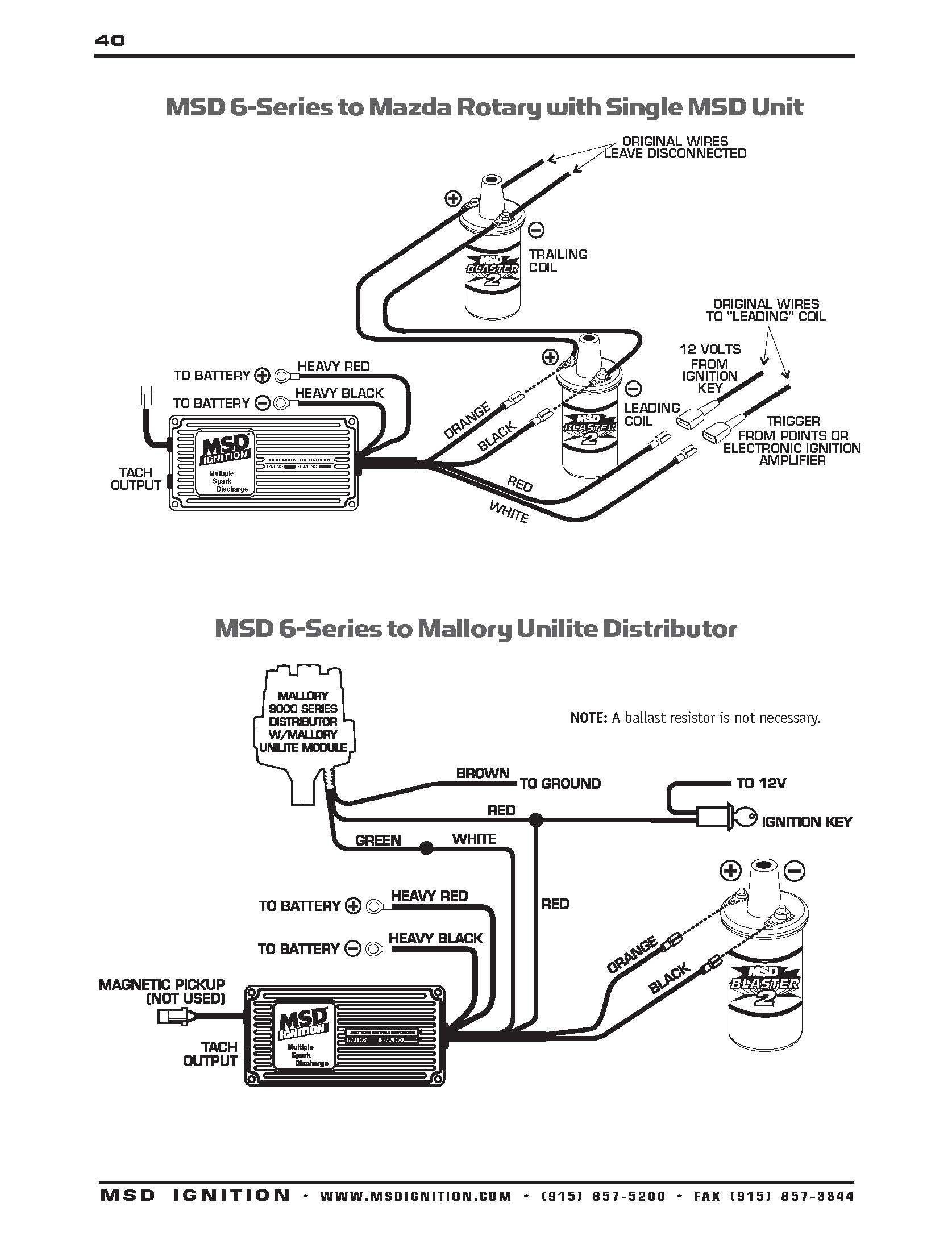 mallory unilite wiring diagram sbc diagrams schematics