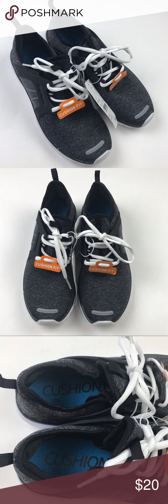 2f02c1d391f52f C9 Champion Poise Black Athletic Shoes Brand new with tags Sz 6 Cushioned  insole Smoke free