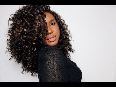 FREETRESS GOGO CURL CROCHET BRAIDS TUTORIAL | KAREN ANNETTE | @LOVEANNETTE2 - YouTube #crochetbraids