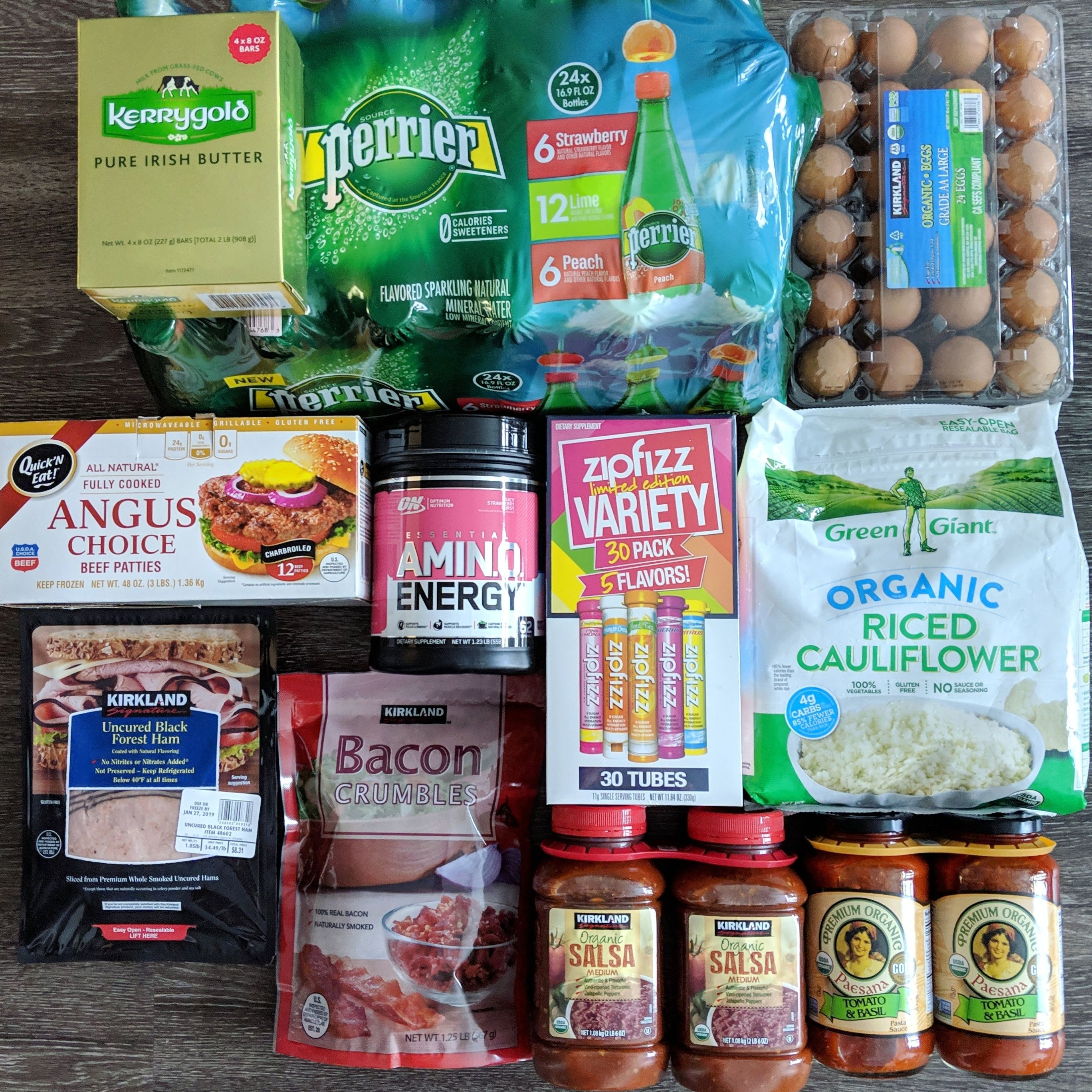 Walmart Costco Grocery Haul With Images Grocery Haul