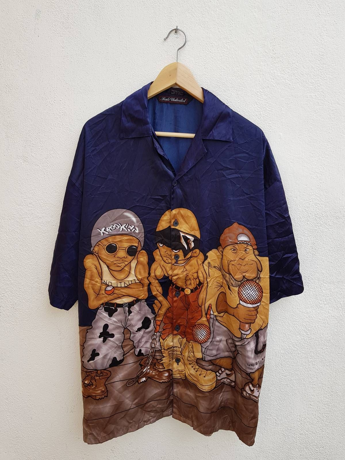 1b4218878c0a Searching for Vintage 90s Seals Unlimited Full Printed Dancer Street Rap  Hip-Hop Swag Men's Shirt Size L? We've got Japanese Brand tops starting at  $51 and ...