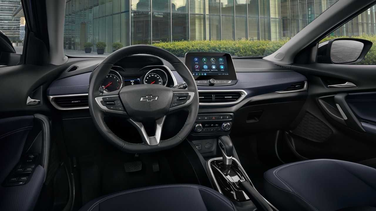 Novo Chevrolet Tracker 2020 Revela Interior Em Foto Oficial Volkswagen Chevrolet Cobalt Volkswagen Jetta