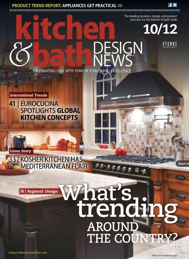 2012 Kitchen And Bath Design News | Whatu0027s Trending Around The Country?  Eurocucina Spotlights Global