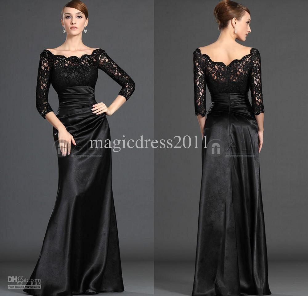 Wholesale 2016 New Bride Evening Dress Vintage Shoulder: Wholesale Mother Of The Bride Dress