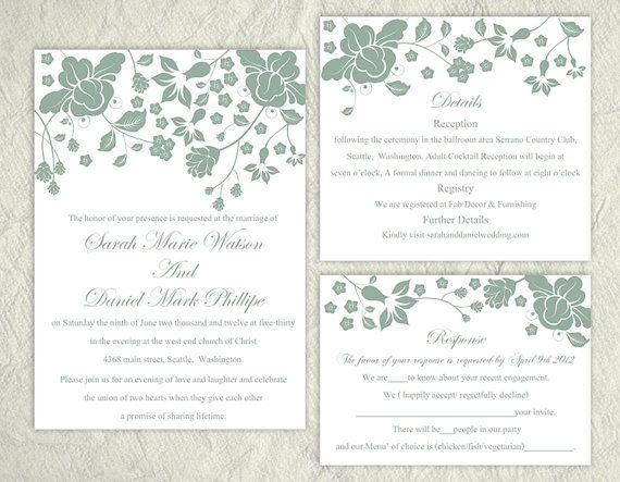 Invite Templates For Word Wedding Invitation Template Download Printable Invitations Editable .