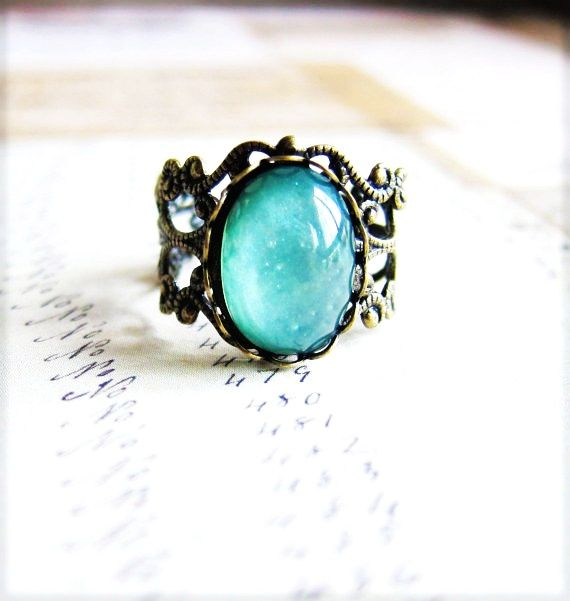 Turquoise water stone