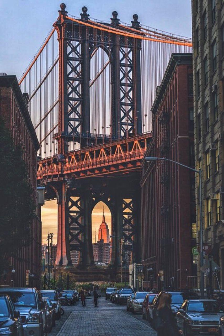 Manhattan Bridge Views From Dumbo Brooklyn By Sam Manhattan Bridge Nyc Company New York Photography