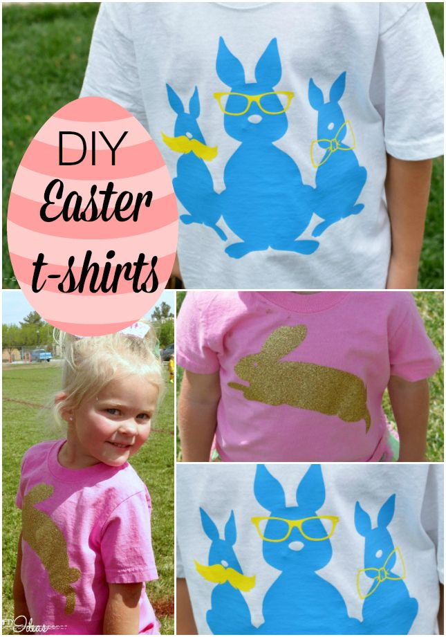 Cute easter shirts you can make yourself a full tutorial to go with cute easter shirts you can make yourself a full tutorial to go with it too solutioingenieria Image collections