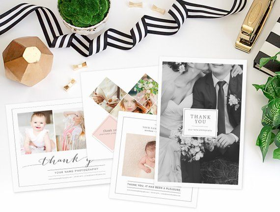 Thank You Card Templates for Photographers, Photography Marketing