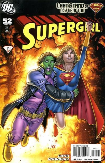 Cover for Supergirl (DC, June 2010) #52