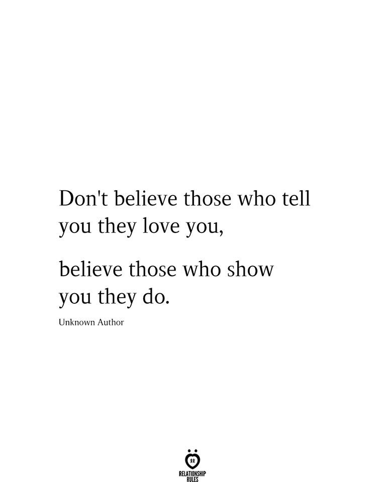 Photo of Don't Believe Those Who Tell You They Love You,