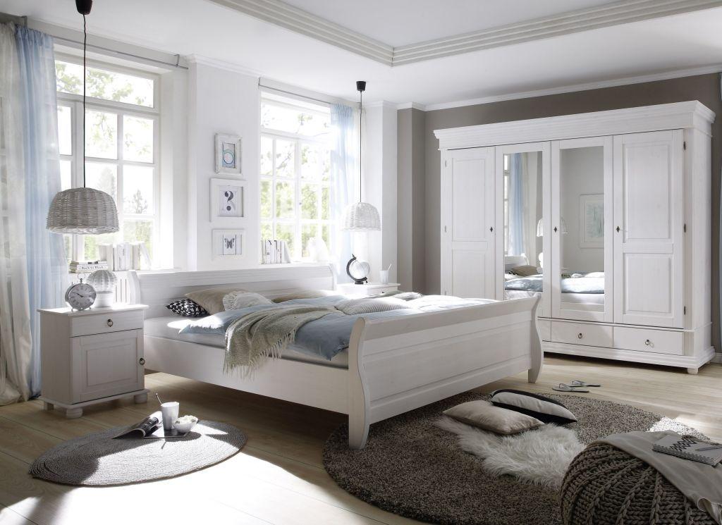 Schlafzimmer-Kombination OSLO Leben im Landhausstil Pinterest - Schlafzimmer Landhausstil Weiß
