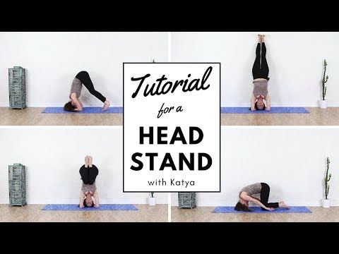 how to do headstand for beginners  youtube  how to do