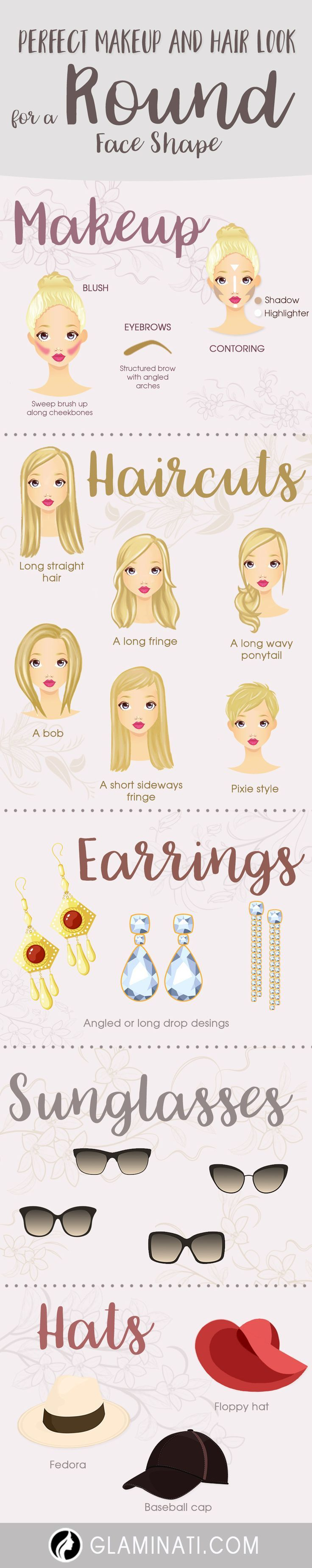 rectangular choose right face on how round shaped the tips earrings to