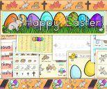 Recursos Primaris de Pasqua, Història de la Pasqua, Jesús, creu, tomba, ou