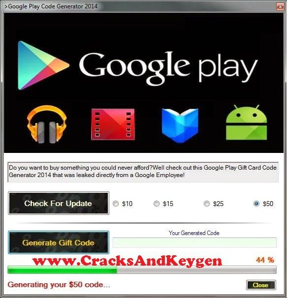 Google Play Code Generator (With Images)