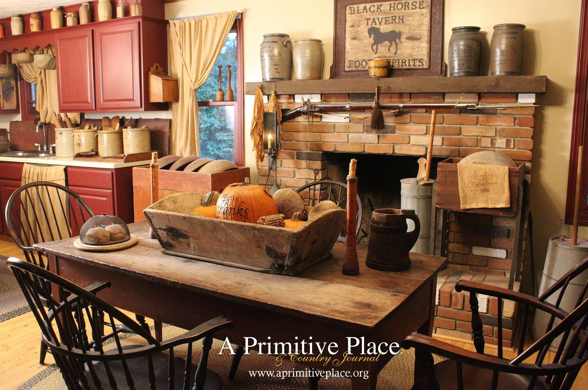 Found on A Primitive Place & Country Journal Magazine | Decoración ...