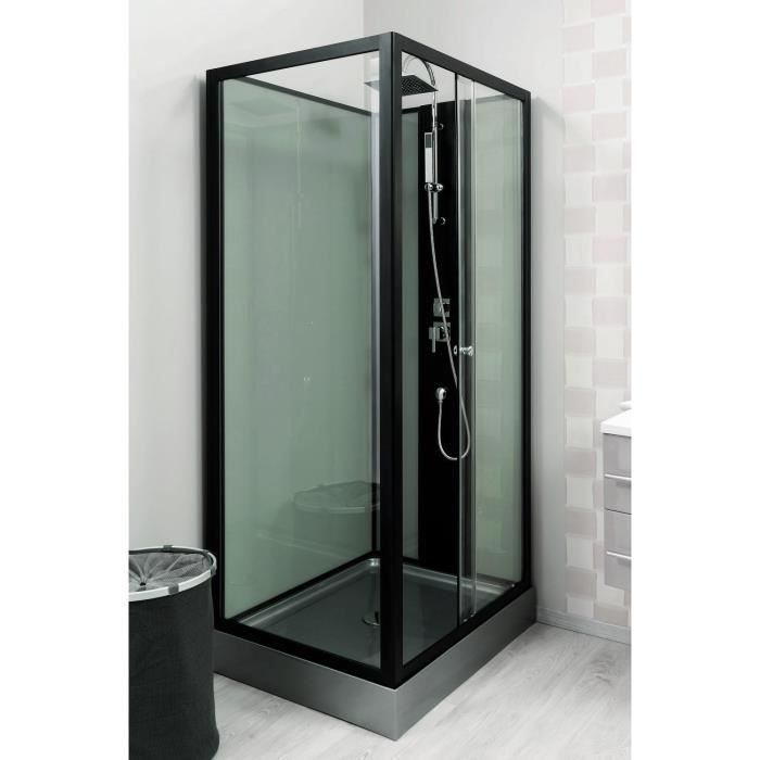 cabine de douche astoria 100x80cm id es shopping pinterest pied reglable porte en verre. Black Bedroom Furniture Sets. Home Design Ideas
