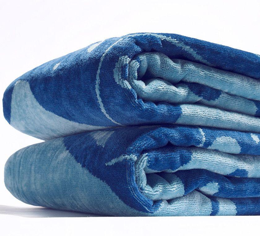 Luxury Cotton Beach Towel / TANGARA | yamabahari