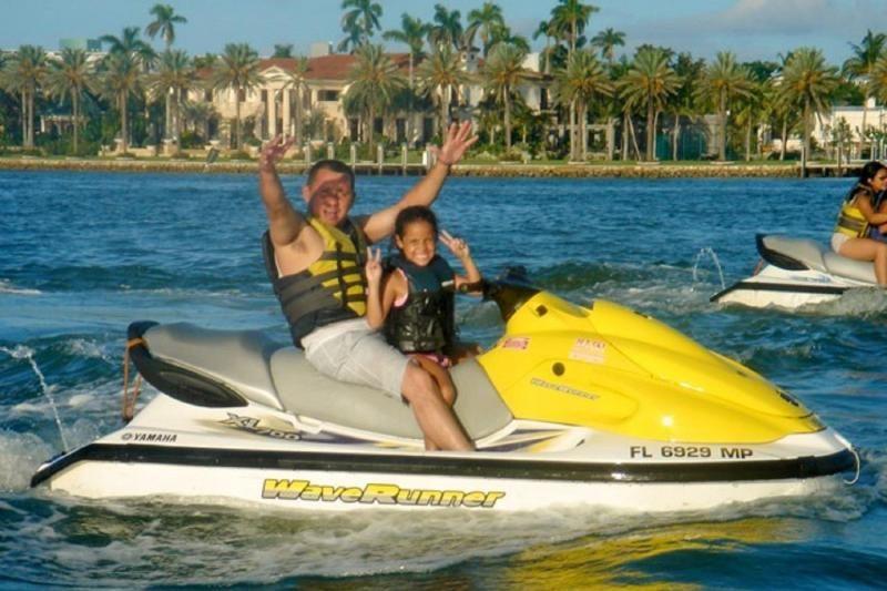 Jet skis are fun for the whole family ski touring jet