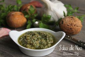 Un condimento perfetto per un primo piatto o un secondo di carne e pesce..la Salsa alle noci è davvero buona e leggera :D
