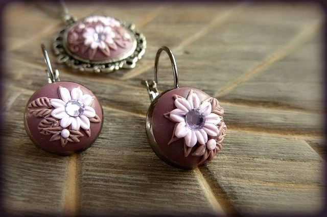 embroidery polymer clay