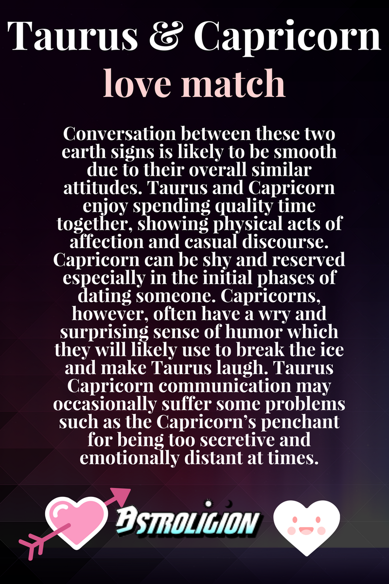 6 Reasons Why Taurus and Capricorn Fall In Love