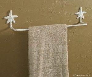 Starfish Bathroom Towel Bar