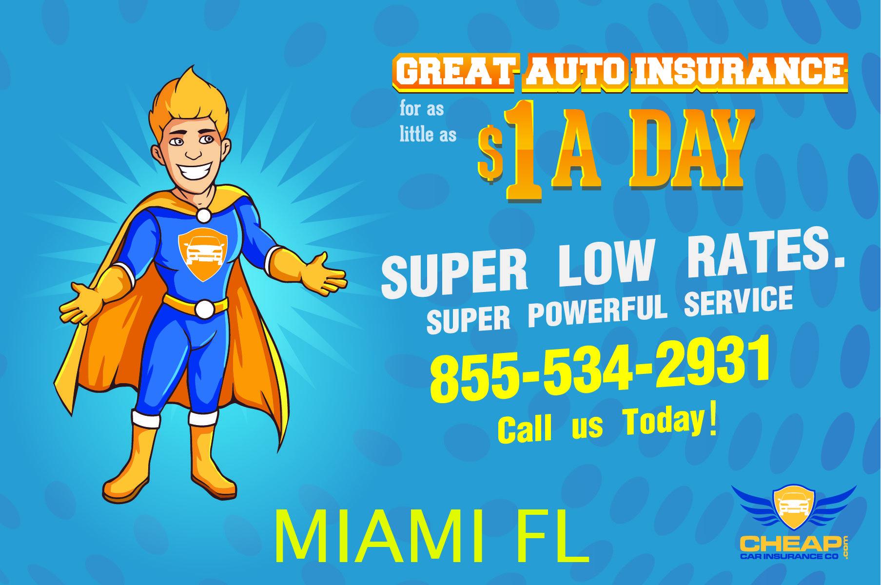 Cheapest Auto Insurance Miami Florida Lower The Cost Of Car
